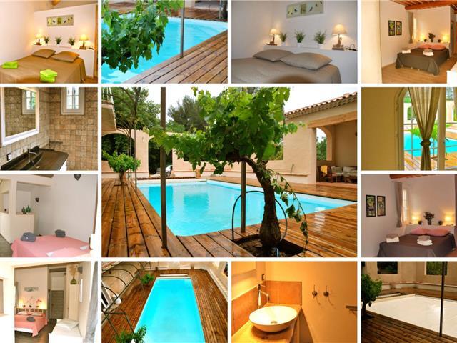 location vacances maison pour 8 personnes au beausset r f sfn ls146529. Black Bedroom Furniture Sets. Home Design Ideas
